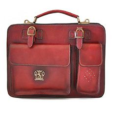 Pratesi Milano business bag chianti