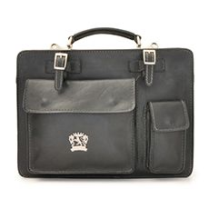 Pratesi Milano business bag zwart