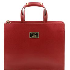 Tuscany Leather Palermo dames aktetas rood