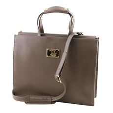 Tuscany Leather Palermo dames aktetas taupe