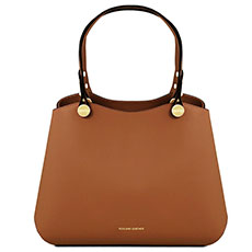Leren dames handtas Anna Tuscany Leather