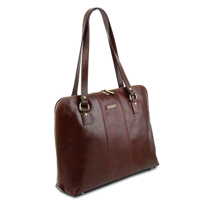 Tuscany Leather Ravenna dames laptoptas 15,6