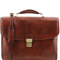 Tuscany Leather Alessandria laptoptas 15,6