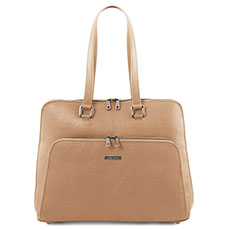 leren laptoptas dames Lucca Tuscany Leather