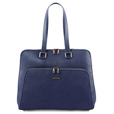 Tuscany Leather Lucca leren dames laptoptas