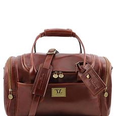 Tuscany Leather TL Voyager leren reistas bruin