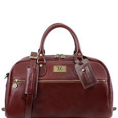 Tuscany Leather Voyager leren reistas bruin