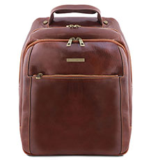 Tuscany Leather leren laptop rugzak Phuket TL141402